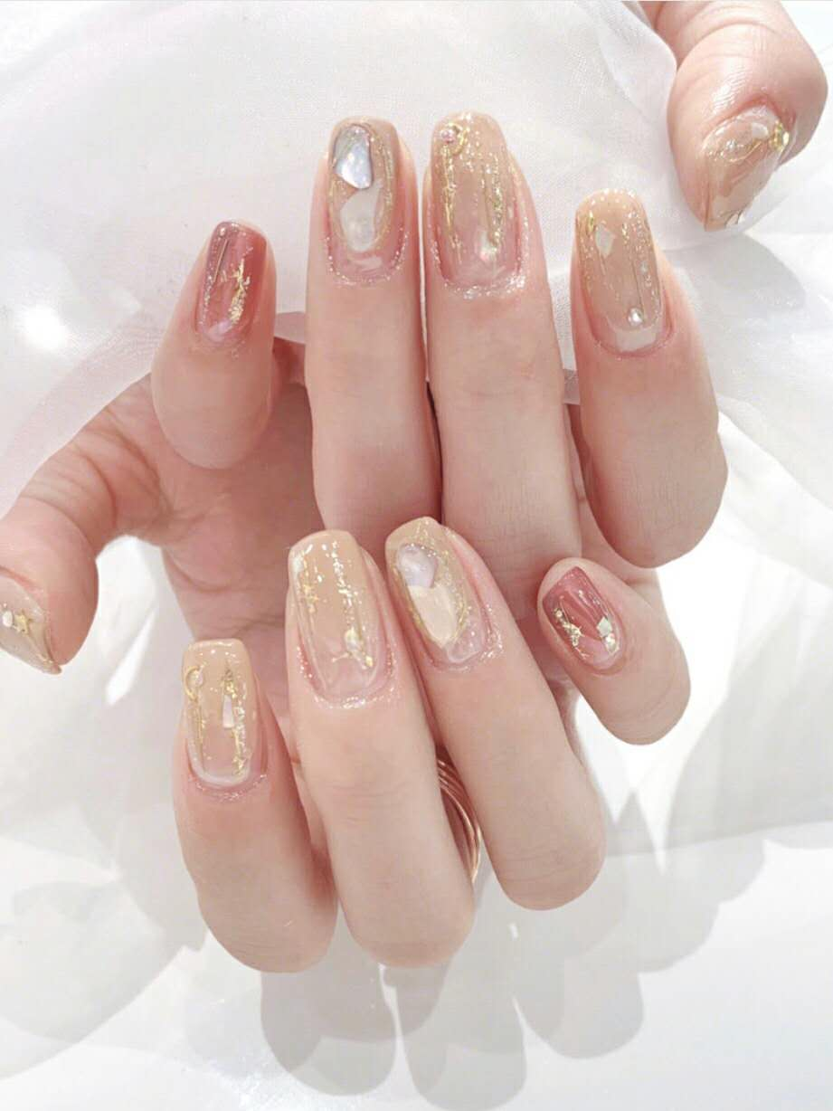 More than 10 beautiful nails for summer design