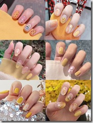 20 yellow series summer nails, very beautiful.