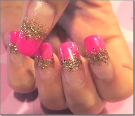 10 Glamorous Pink Nail Art Tutorials