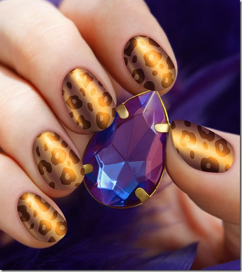 10 Animal Themed Nail Art Designs