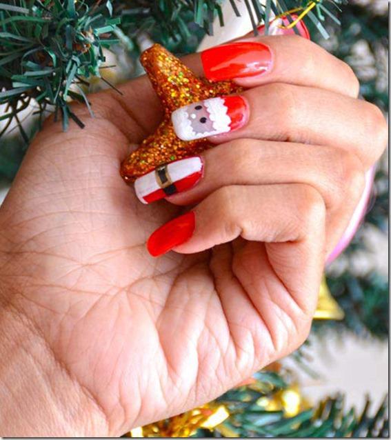 10 amazing Christmas nail art tutorials