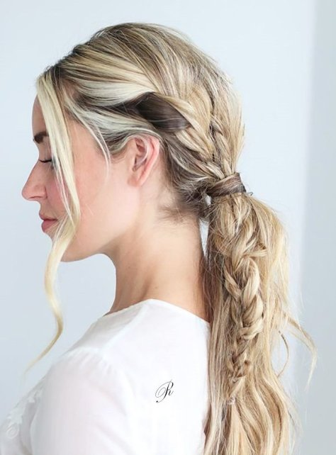 Female Simple Summer Hairstyle For 2019