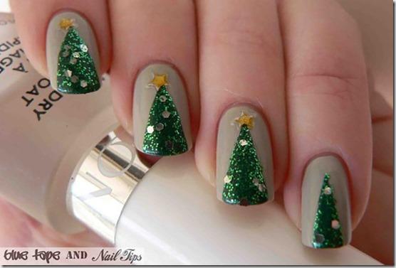 Sparkly Pine Trees